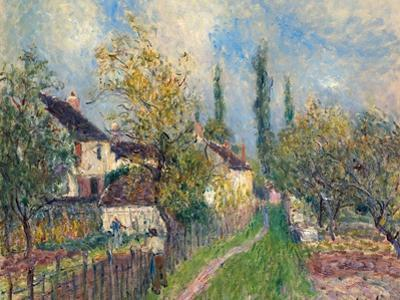Les Sablons, 1883 by Alfred Sisley