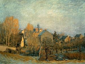 Little Town on the River Seine, 1872 by Alfred Sisley