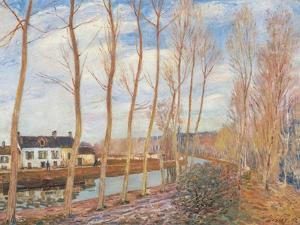 Loings Canal by Alfred Sisley