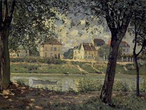 Louvecienne by Alfred Sisley
