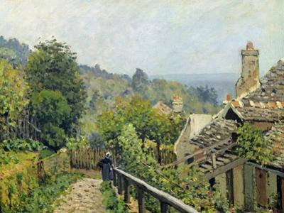 Louveciennes Or, the Heights at Marly, 1873 by Alfred Sisley