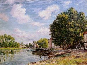 Moret-Sur-Loing, 1885 by Alfred Sisley