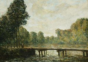 Petit Pont Sur L'Orvanne, 1890 by Alfred Sisley