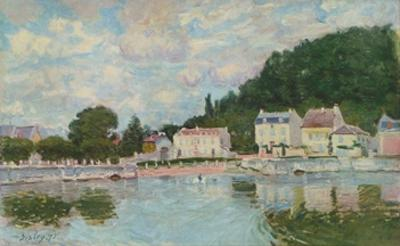 Port Marly by Alfred Sisley