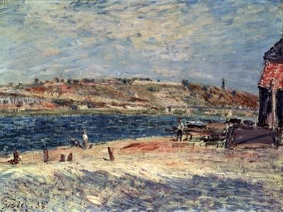 River Banks at Saint-Mammès, 1884 by Alfred Sisley