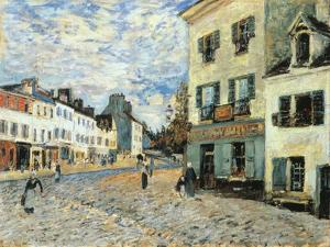 Road to Marly, 1876 by Alfred Sisley