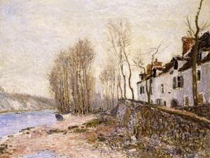 Saint Mammes, La Croix-Blanche, 1884 by Alfred Sisley