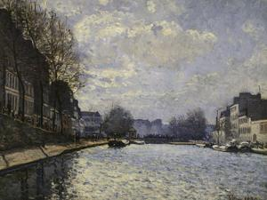 Saint-Martin Canal, c.1870 by Alfred Sisley