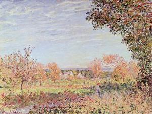 September Morning, circa 1887 by Alfred Sisley