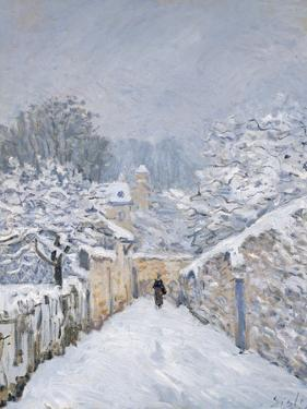 Snow at Louveciennes, 1878 by Alfred Sisley