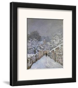 Snow at Louveciennes, France, c.1878 by Alfred Sisley