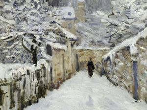 Snow in Louveciennes, c.1878 by Alfred Sisley