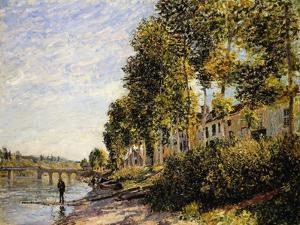 Sunny Morning at Saint Mammes; Soleil Du Matin a Saint-Mammes, 1884 by Alfred Sisley