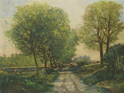 The Avenue by Alfred Sisley