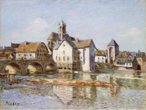 The Bridge at Moret, 1892 by Alfred Sisley