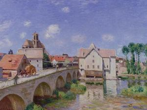 The Bridge at Moret, 1893 by Alfred Sisley