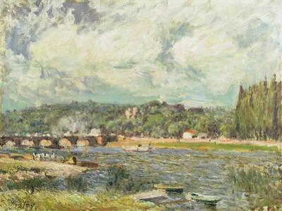 The Bridge at Sevres, c.1877 by Alfred Sisley
