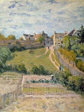 The Climbing Path, 1875 by Alfred Sisley