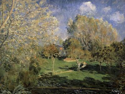 The Garden of Monsieur Hoschedé in Montgeron, 1881 by Alfred Sisley
