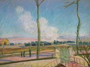 The Goods Station by Alfred Sisley