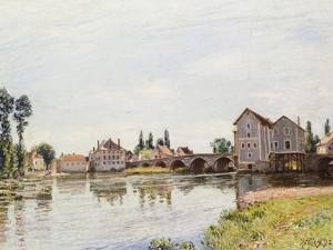 The Loing Below the Pont De Moret, 1892 by Alfred Sisley