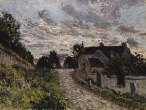 The Path to Louveciennes; Un Chemin a Louveciennes, 1876 by Alfred Sisley