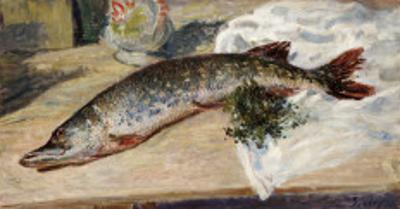 The Pike, 1888 by Alfred Sisley