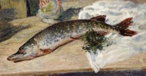 The Pike, 1888 by Alfred Sisley