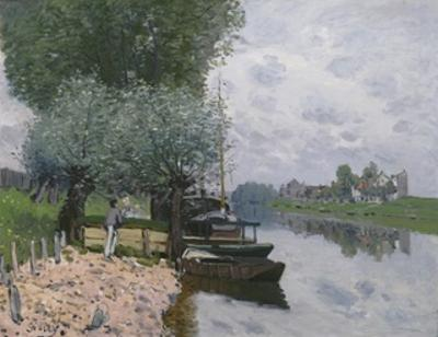 The Seine at Bougival, 1872 by Alfred Sisley