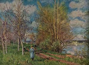 'The Small Meadows in Spring', c1880-1 by Alfred Sisley