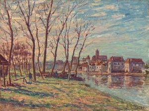 View of Moret, 1889 by Alfred Sisley