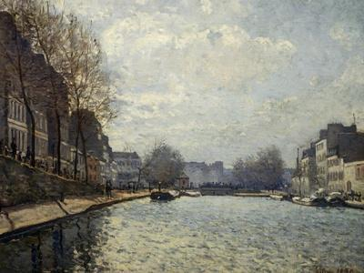 View of the Saint-Martin Canal