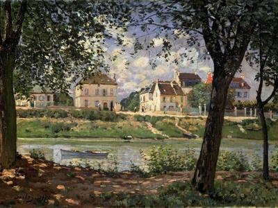 Villeneuve-La-Garenne (Village on the Sein), 1872
