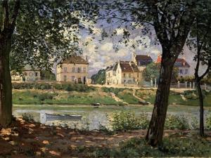 Villeneuve-La-Garenne (Village on the Sein), 1872 by Alfred Sisley