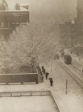 Snapshot From My Window, New York, 1907 by Alfred Stieglitz