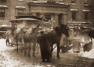 The Terminal, New York City, 1893 by Alfred Stieglitz