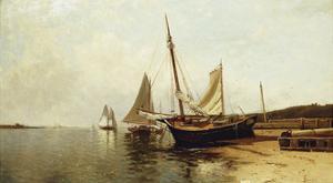 Calm Morning, Portland Harbor by Alfred Thompson Bricher