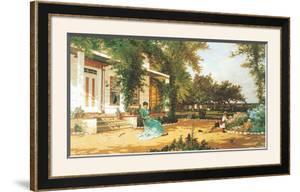In My Neighbor's Garden by Alfred Thompson Bricher