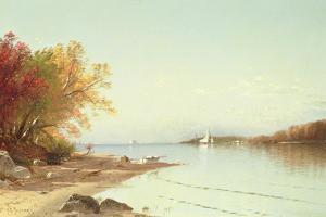 Narragansett Bay, Autumn, Rhode Island by Alfred Thompson Bricher