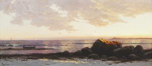 Point Judith, Narragansett Bay, Rhode Island, c.1885 by Alfred Thompson Bricher