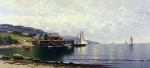 The Landing, Bailey Island, Maine, C.1907 by Alfred Thompson Bricher