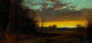 Twilight in the Wilderness, 1865 by Alfred Thompson Bricher
