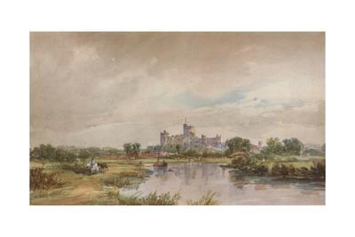 'A Castle by a River', c1851, (1938)