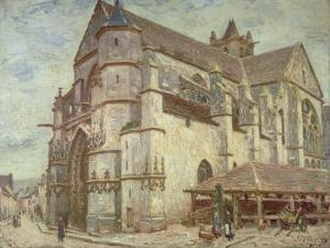 The Church at Moret, Frosty Weather, 1893 by Alfred Victor Fournier