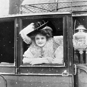 Billie Burke (1885-197), American Actress, 1908-1909 by Alfred & Walery Ellis