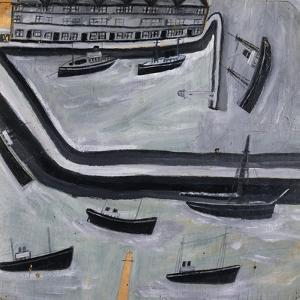 The Harbour by Alfred Wallis