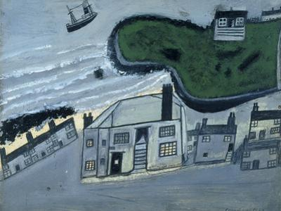 The Hold House Port Mear Square Island Port Mear Beach by Alfred Wallis