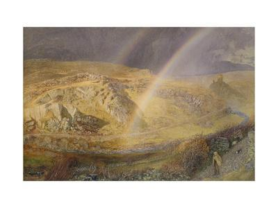A November Rainbow, Dolwyddelan Valley, November 11 1866, 1 P.M. 1866, 1866