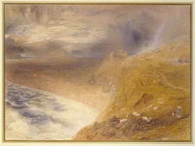 Harlech Castle, 1857