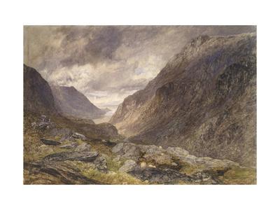 Pass of Llanberis, C.1853